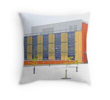 Biology In The Snow Throw Pillow