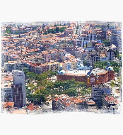 flying over Lisbon... Poster