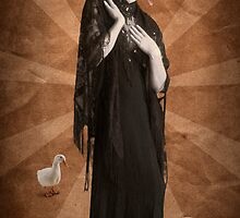 The woman who thought she could be queen of the geese by Kurt  Tutschek