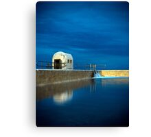 Blue Baths Canvas Print