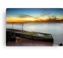 Trig Beach Sunset Part II Canvas Print