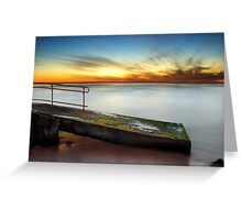 Trig Beach Sunset Part II Greeting Card