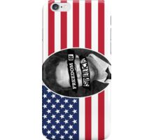 Freedom of speech iPhone Case/Skin