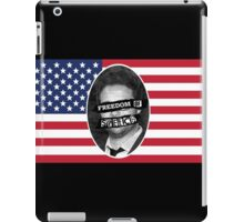 Freedom of speech iPad Case/Skin