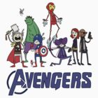The Cute Avengers by cutesiesbychris