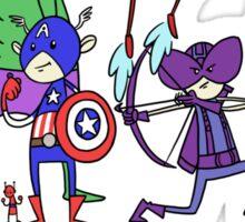 The Cute Avengers Sticker