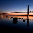 Forth Sunset by Kirsty Hodge