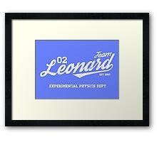 Team Leonard Framed Print