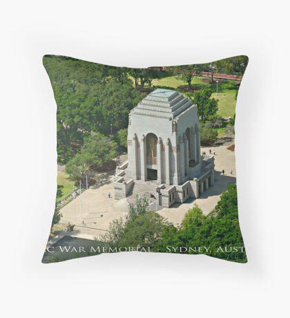 Anzac War Memorial - Sydney, Australia (Photo Finish) Throw Pillow