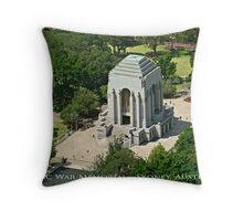 Anzac War Memorial - Sydney, Australia (Dry Brush Finish) Throw Pillow