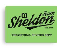 Team Sheldon Canvas Print