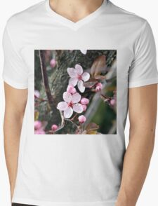 A touch of spring  Mens V-Neck T-Shirt