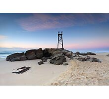 Redhead Beach, NSW Australia just before sunrise Photographic Print