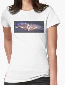 Space Cadet Astronaut Womens Fitted T-Shirt