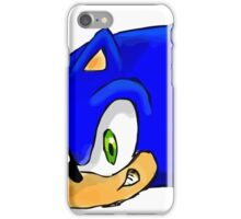 Sonic the Hedgehog. The Iconic Head iPhone Case/Skin