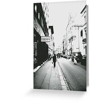 Krakow Greeting Card