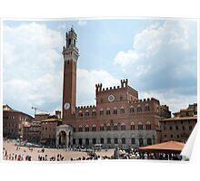 Piazza del Campo - Siena Poster