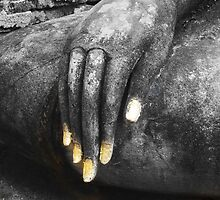 The hand of Buddha by Kevin Hellon