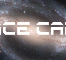 Space Cadet Logo 2 Sticker