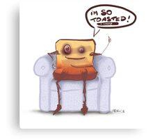 Mr Toast Canvas Print