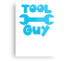 TOOL Guy with spanner design Metal Print