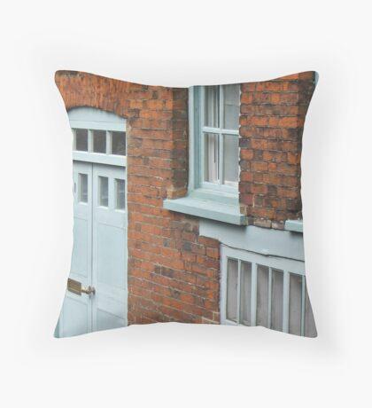 Doors and Windows Throw Pillow