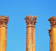 Corinthian Capitals by Malcolm Snook