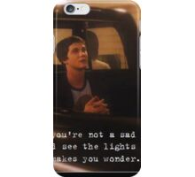 Perks of being Charlie iPhone Case/Skin
