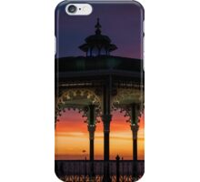 Brighton Bandstand Sunset iPhone Case/Skin