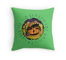 Rasta Pumpkin - Halloween Special  Throw Pillow