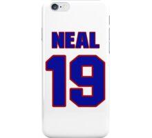 National baseball player Charlie Neal jersey 19 iPhone Case/Skin