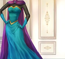 Elsa Royale  - Frozen by Opeiaa