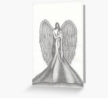 Silenced - pencil Greeting Card