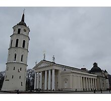 Cathedral in Vilnius Photographic Print