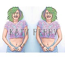 Katy Perry Photographic Print