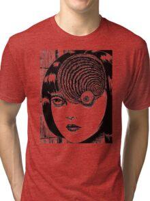 Uzumaki – Eye Tri-blend T-Shirt