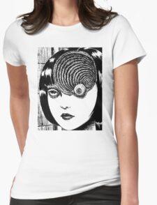 Uzumaki – Eye Womens Fitted T-Shirt