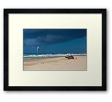 Clearing Storm Peregian Beach Queensland Australia Framed Print