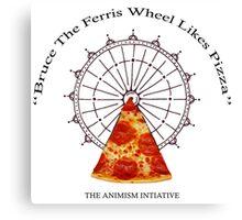 Bruce The Ferris Wheel Canvas Print