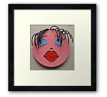 """""""Cherise""""- wall sculpture Framed Print"""