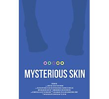 Mysterious Skin poster art work Photographic Print