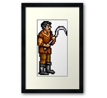 hero peasant Framed Print