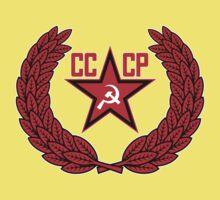 Russian Soviet Red CCCP (Clean) Kids Tee