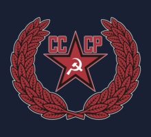 Russian Soviet Red CCCP (Clean) Kids Clothes
