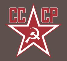 Russian Soviet Red Star CCCP (Clean) Baby Tee