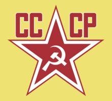 Russian Soviet Red Star CCCP (Clean) Kids Tee