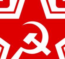 Russian Soviet Red Star CCCP (Clean) Sticker