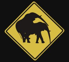 ELEPHANT MATE ROAD SIGN by SofiaYoushi