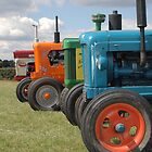 Tractors by Tony Hadfield