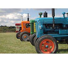 Tractors Photographic Print